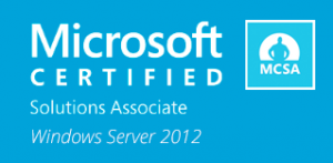 Microsoft Certified Solutions Associate (MSCA) - Windows Server 2012